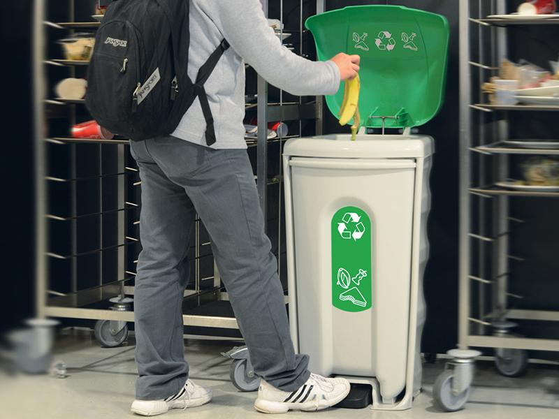 ¿Cómo separar los residuos orgánicos del resto de los RS?