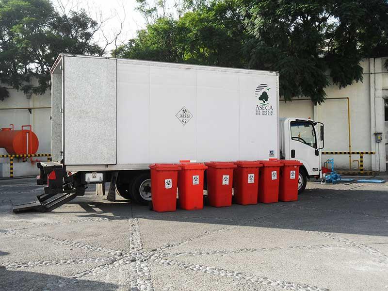 Recolección controlada de Residuos Peligrosos Biológicos Infecciosos
