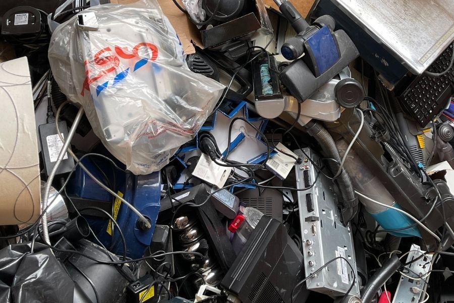 desechar aparatos electrónicos