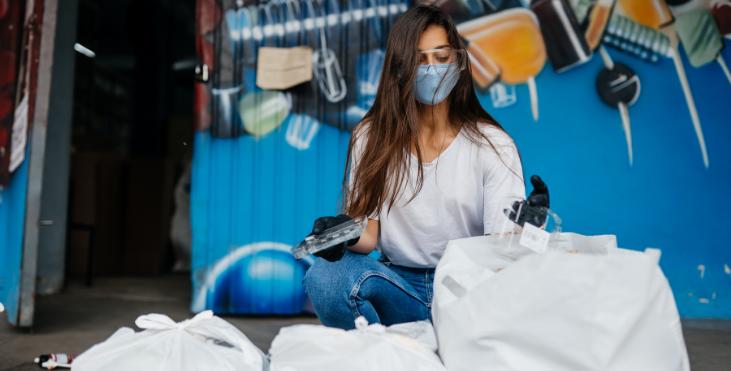 separación de residuos en la Nueva Normalidad